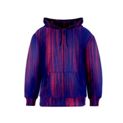 Abstract Color Red Blue Kids  Zipper Hoodie