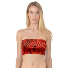 Orange Abstract Background Bandeau Top