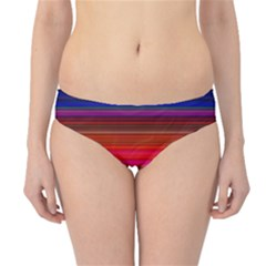 Fiesta Stripe Bright Colorful Neon Stripes Cinco De Mayo Background Hipster Bikini Bottoms
