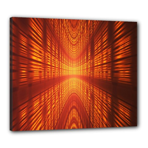 Abstract Wallpaper With Glowing Light Canvas 24  X 20