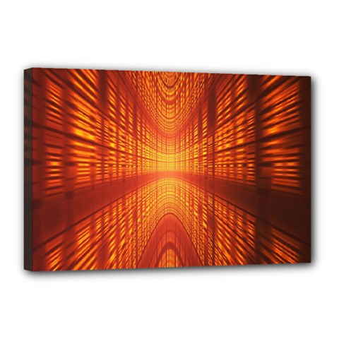 Abstract Wallpaper With Glowing Light Canvas 18  X 12