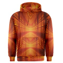 Abstract Wallpaper With Glowing Light Men s Pullover Hoodie