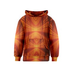 Abstract Wallpaper With Glowing Light Kids  Pullover Hoodie