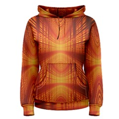 Abstract Wallpaper With Glowing Light Women s Pullover Hoodie