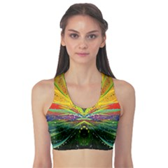 Future Abstract Desktop Wallpaper Sports Bra