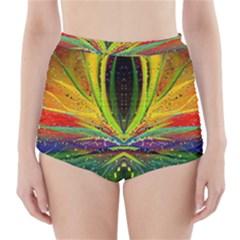 Future Abstract Desktop Wallpaper High Waisted Bikini Bottoms