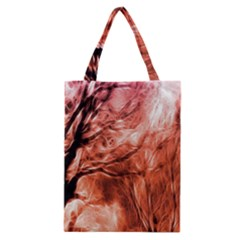 Fire In The Forest Artistic Reproduction Of A Forest Photo Classic Tote Bag