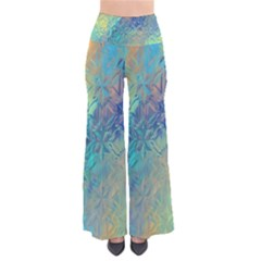 Colorful Patterned Glass Texture Background Pants