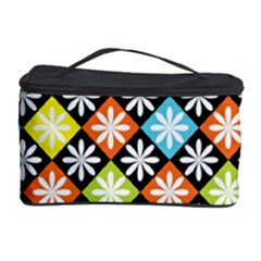 Diamond Argyle Pattern Colorful Diamonds On Argyle Style Cosmetic Storage Case