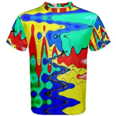 Bright Colours Abstract Men s Cotton Tee