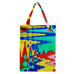 Bright Colours Abstract Classic Tote Bag