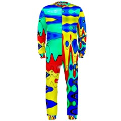 Bright Colours Abstract OnePiece Jumpsuit (Men)