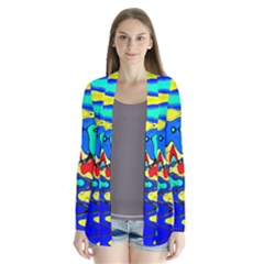 Bright Colours Abstract Cardigans