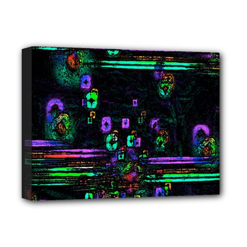 Digital Painting Colorful Colors Light Deluxe Canvas 16  X 12