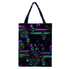 Digital Painting Colorful Colors Light Classic Tote Bag