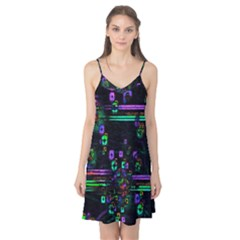 Digital Painting Colorful Colors Light Camis Nightgown