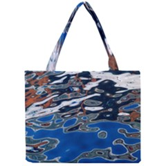 Colorful Reflections In Water Mini Tote Bag