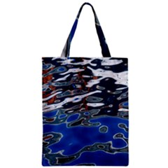 Colorful Reflections In Water Zipper Classic Tote Bag