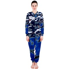 Colorful Reflections In Water OnePiece Jumpsuit (Ladies)