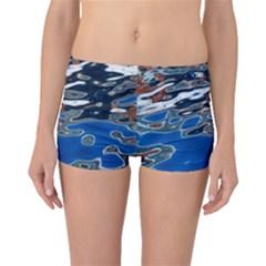 Colorful Reflections In Water Boyleg Bikini Bottoms