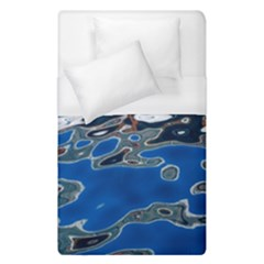 Colorful Reflections In Water Duvet Cover (single Size)