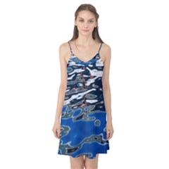 Colorful Reflections In Water Camis Nightgown