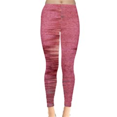 Rectangle Abstract Background In Pink Hues Leggings