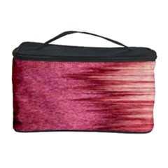 Rectangle Abstract Background In Pink Hues Cosmetic Storage Case
