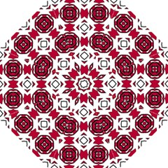 Seamless Abstract Pattern With Red Elements Background Hook Handle Umbrellas (large)