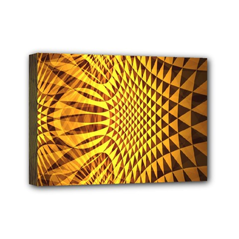 Patterned Wallpapers Mini Canvas 7  X 5
