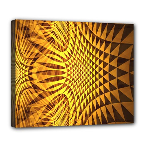 Patterned Wallpapers Deluxe Canvas 24  X 20
