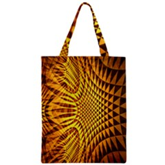 Patterned Wallpapers Zipper Classic Tote Bag