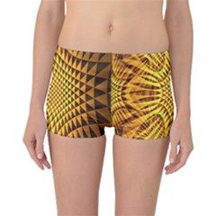 Patterned Wallpapers Boyleg Bikini Bottoms