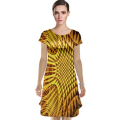 Patterned Wallpapers Cap Sleeve Nightdress