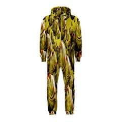 Melting Gold Drops Brighten Version Abstract Pattern Revised Edition Hooded Jumpsuit (Kids)