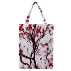 Tree Art Artistic Abstract Background Classic Tote Bag