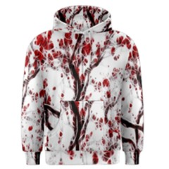Tree Art Artistic Abstract Background Men s Zipper Hoodie