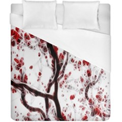 Tree Art Artistic Abstract Background Duvet Cover (california King Size)