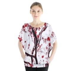 Tree Art Artistic Abstract Background Blouse