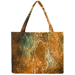 Light Effect Abstract Background Wallpaper Mini Tote Bag