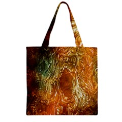 Light Effect Abstract Background Wallpaper Zipper Grocery Tote Bag