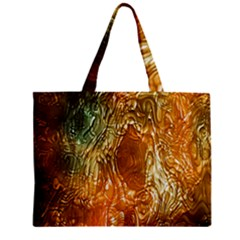 Light Effect Abstract Background Wallpaper Zipper Mini Tote Bag