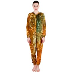 Light Effect Abstract Background Wallpaper OnePiece Jumpsuit (Ladies)