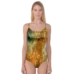 Light Effect Abstract Background Wallpaper Camisole Leotard