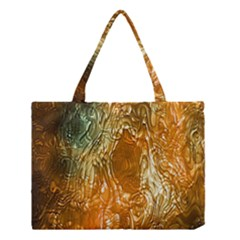 Light Effect Abstract Background Wallpaper Medium Tote Bag