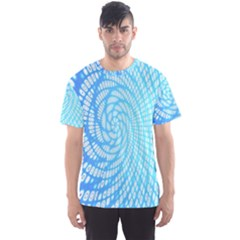 Abstract Pattern Neon Glow Background Men s Sport Mesh Tee