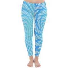 Abstract Pattern Neon Glow Background Classic Winter Leggings