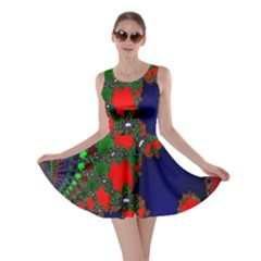 Recurring Circles In Shape Of Amphitheatre Skater Dress