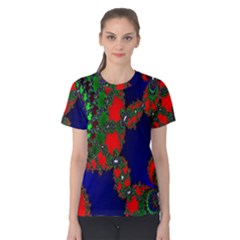 Recurring Circles In Shape Of Amphitheatre Women s Cotton Tee