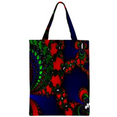 Recurring Circles In Shape Of Amphitheatre Zipper Classic Tote Bag